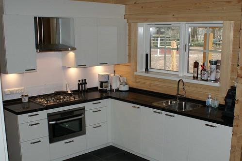 Interieur foto van een houten huis logwoning rpm houtbou flickr - Interieur van amerikaans huis ...