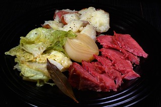 Corned Beef Brisket with Cabbage, Potatoes, & Onion | by liverock1028