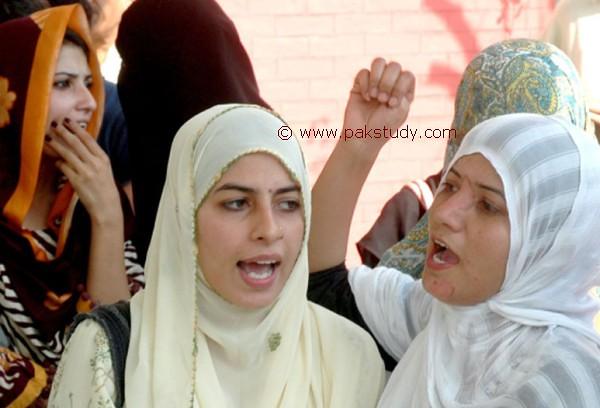 Pakistani Punjabi Girls Protest - Lahore | Pakistani Punjabi… | Flickr