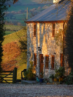 cottage at sunset | by Bearded iris.