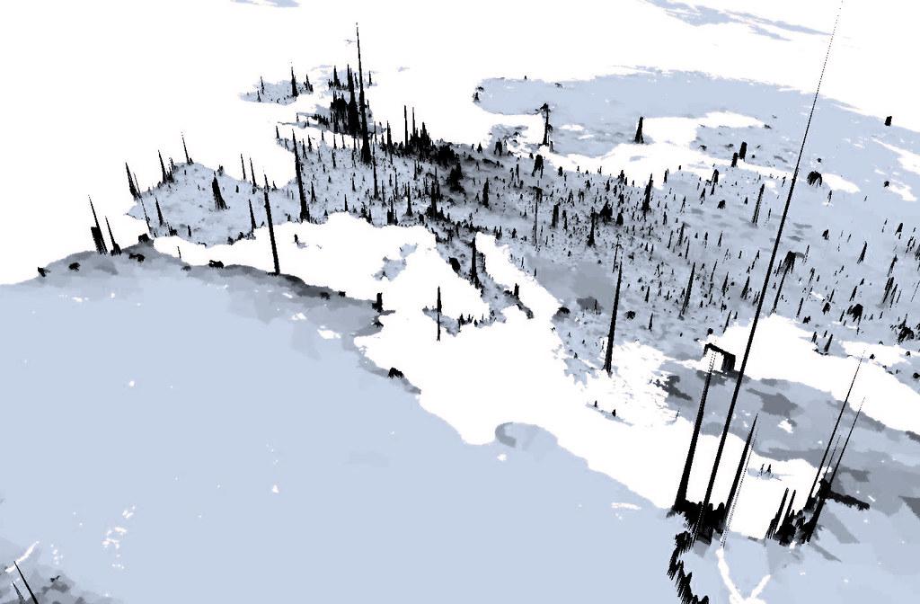 Image result for population density 3d