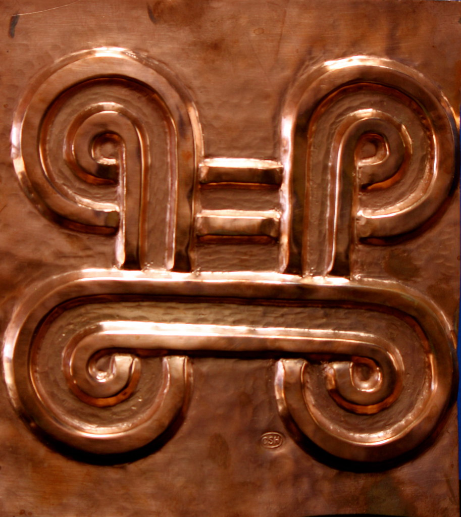 Mpatapo symbol universal peace wheel copper panel for elko flickr mpatapo symbol by julie caldwell mpatapo symbol by julie caldwell buycottarizona Choice Image