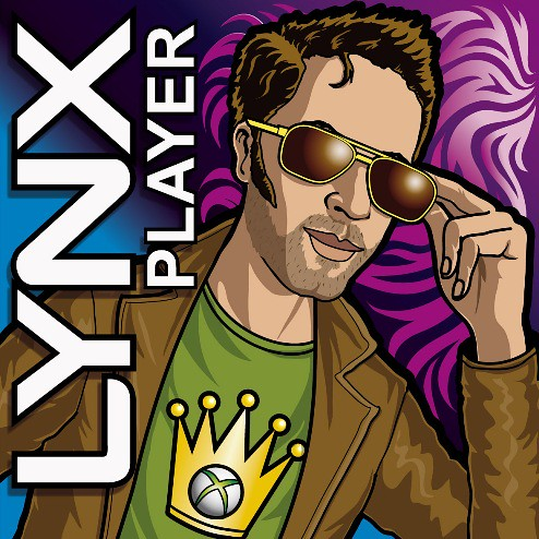 The Lynx Effect - Lynx Player Tournament on Xbox Live | by Rod Hunt Illustration