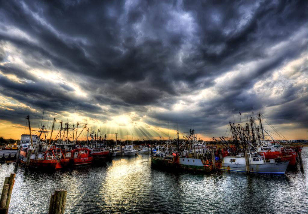 Barnegat light and viking village flickr for Barnegat light fishing report