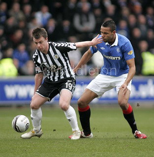 Kyle Bartley Rangers | by Alasdair Middleton
