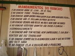 Mandamentos Do Rancho