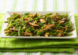 Green Beans with Almonds | by Cascadian Farm