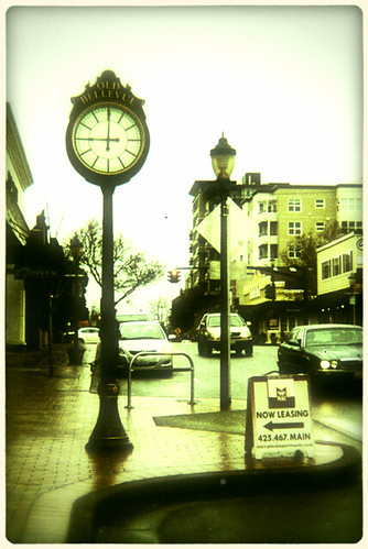 Old Bellevue Clock | by KurtClark