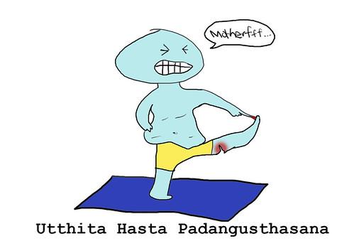 utthita hasta padangusthasana | Dan Borden | Flickr