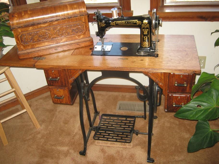 vintage wilson sewing