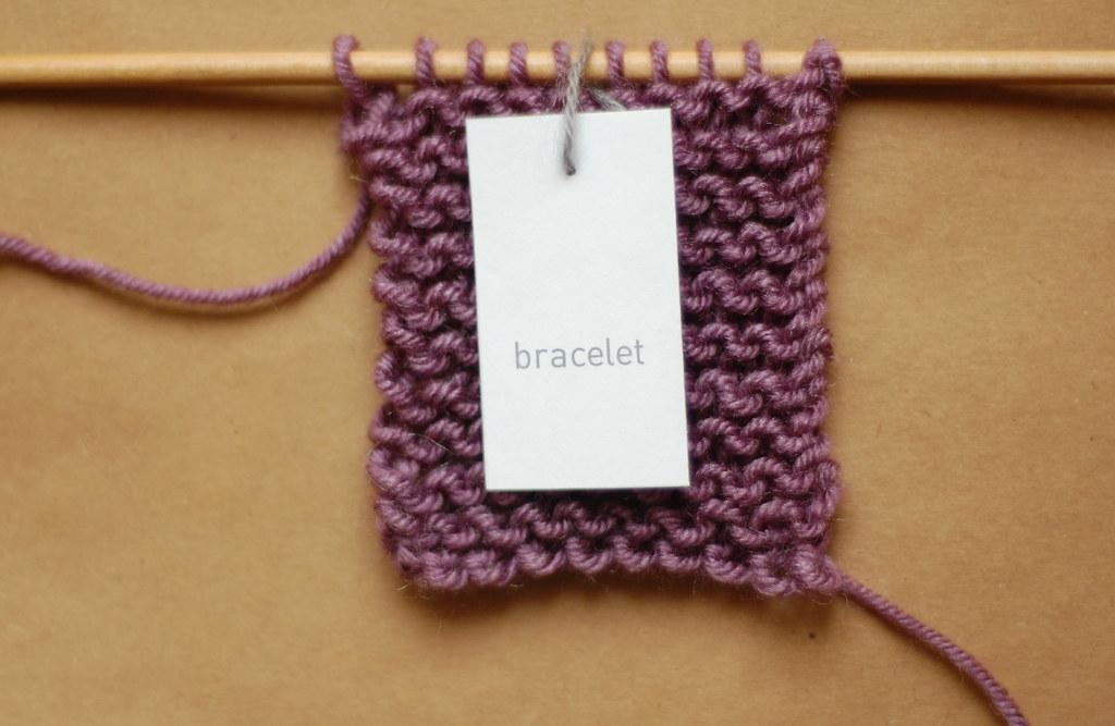 Mini Knit Bracelet Pattern Reformatting My Twitter Knittin Flickr