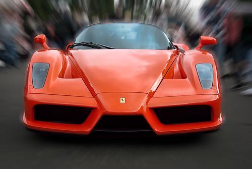 Enzo ferrari john force holiday car show for Ferrari christmas