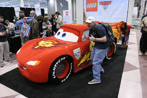 LEGO Toy Fair 2011 - Lightning McQueen Statue Unveiling - 36 | by fbtb