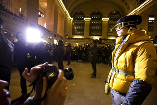 NYFW: Paparazzi at the Moncler Grand Central station show | by Dan Nguyen @ New York City
