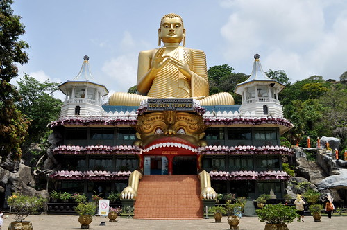 Golden Temple of Dambulla | by Moteb
