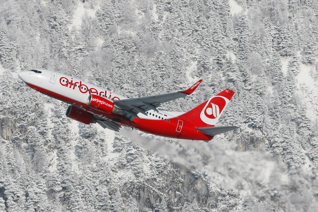 ... D-AHXD | Air Berlin | Boeing 737-700 | Innsbruck | LOWI |