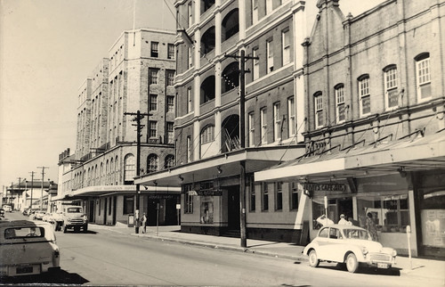 View of Scott Street, Newcastle, NSW, Australia [c.1960's] | by UON Library,University of Newcastle, Australia