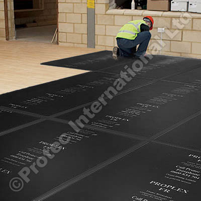 Proplex 4mm Fr Black Recycled Plastic Sheeting From