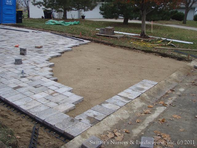 interlocking concrete paver driveway   flickr