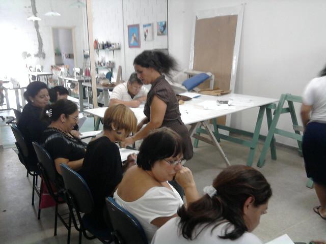 Aulas de Desenho no Centro de Artes ProBrasil