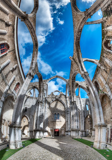 The Convent - Ruínas do Carmo - (HDR Lisbon, Portugal) | by blame_the_monkey