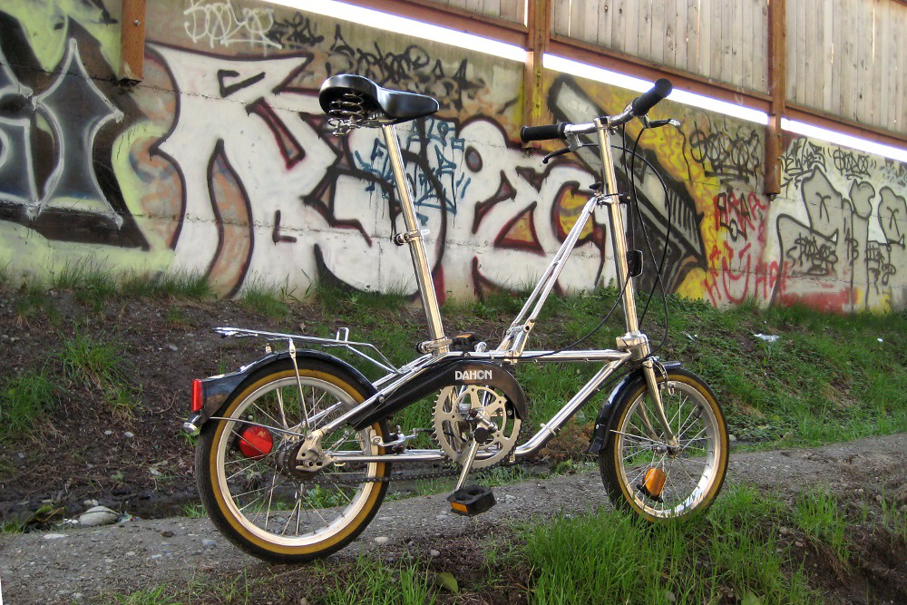 Dahon Iii Girlfriend Wanted Her Own Folding Bike After See Flickr