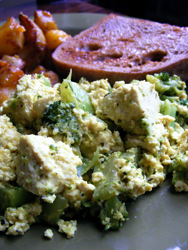 Scrambled Tofu with Broccoli | by kozmic_blues1124