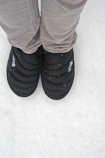 snow walk in slippers | by fog and swell