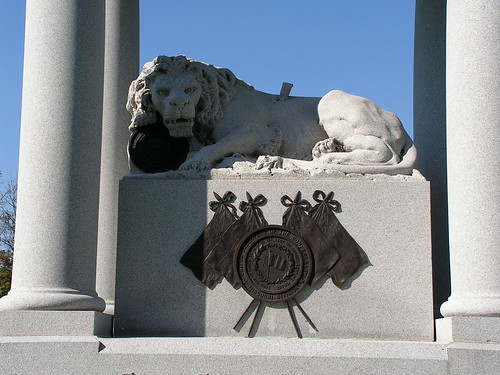 Detail of Missouri Confederate Cemetery Memorial | by JeromeG111