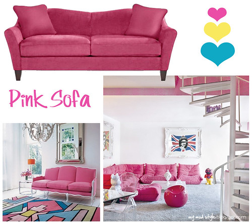 Pink Sofa Inspiration1 | by Jessie {Creating Happy}
