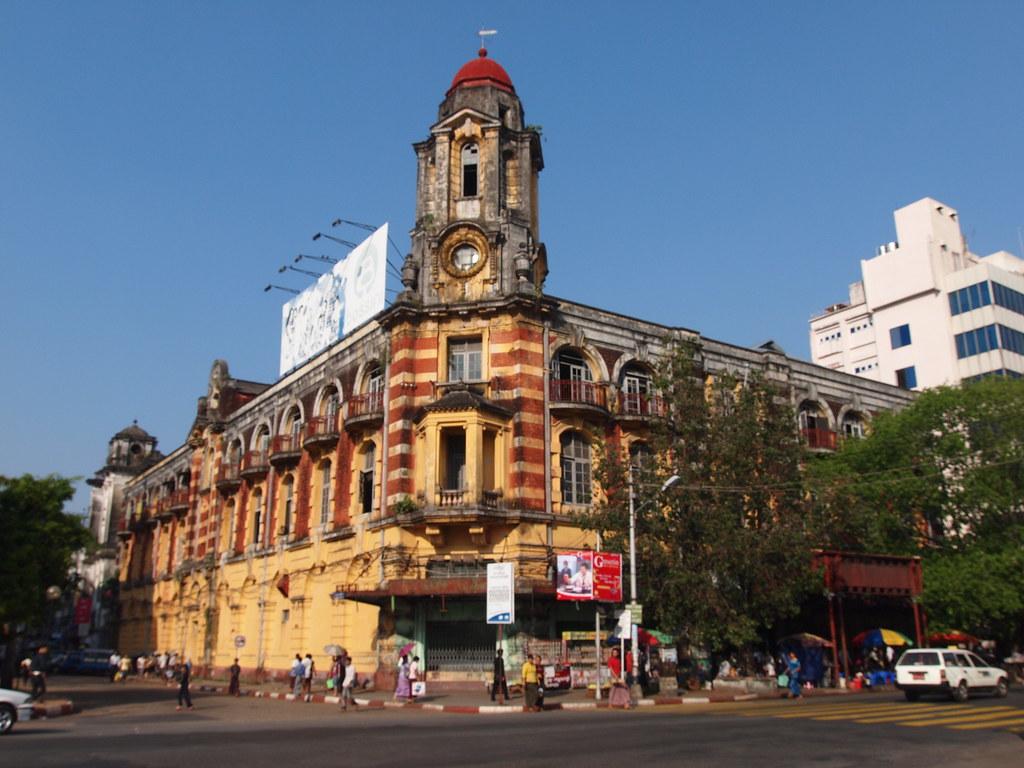 Myanmar. Yangon Colonial