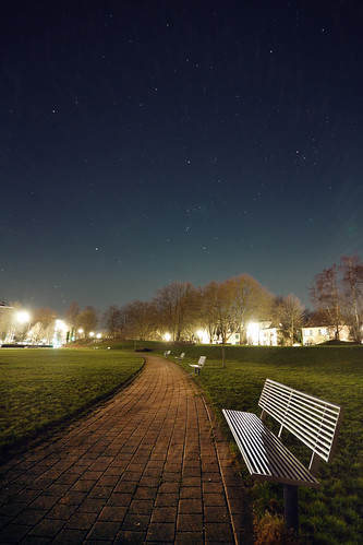 Benches at Night | by kirberich