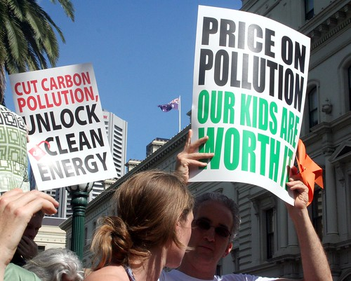 Price the Polluters Rally - Price on pollution our kids are worth it | by John Englart (Takver)