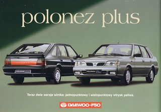 Daewoo-FSO Polonez Plus 1999 brochure (Poland) | by harry_nl