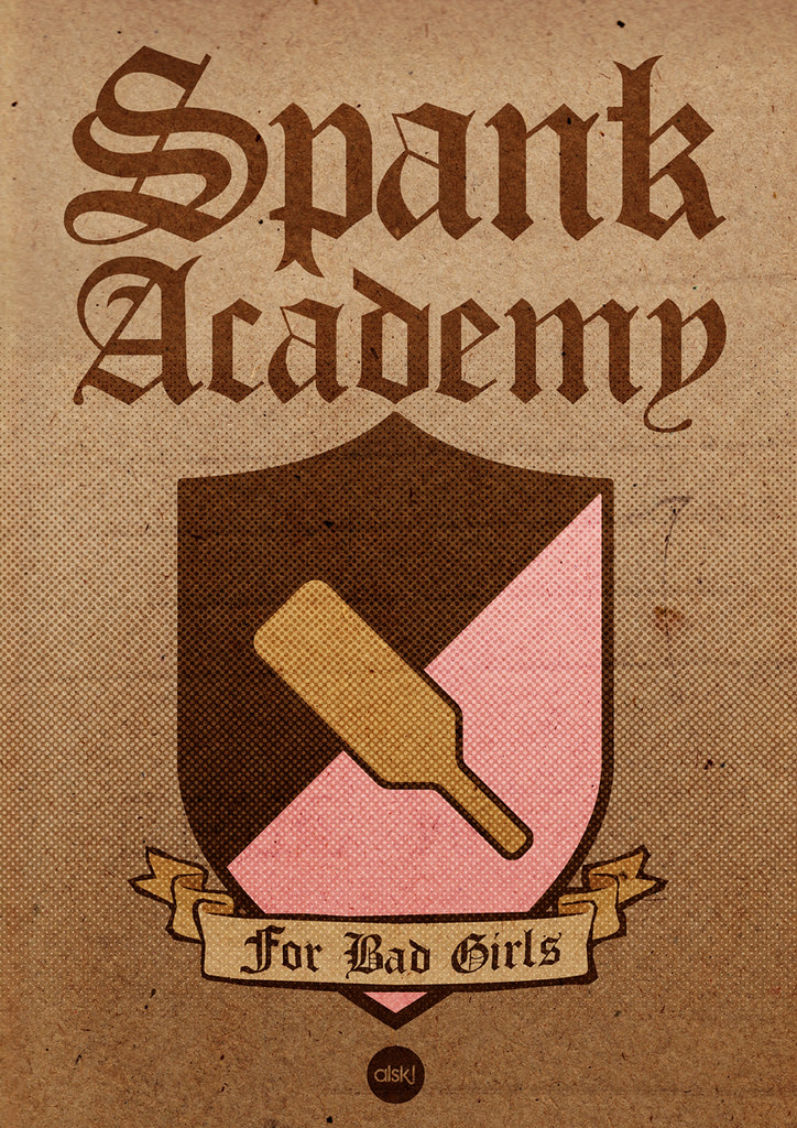 Spank acadamy for bad girls