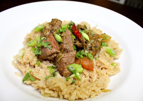 Lamb Peratil curry with Malay fragrant rice | by SeppySills