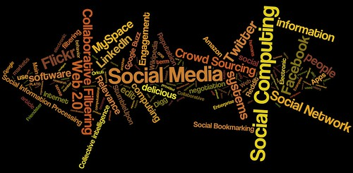 social media, social networking, social computing tag cloud (#3) | by daniel_iversen