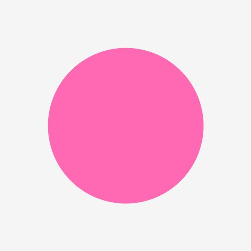 I Feel Like An Hot Pink Circle On White Smoke Flickr