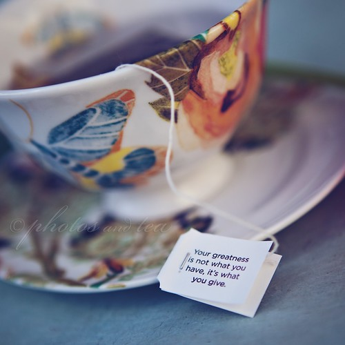 It's what you give (10/52) | by photos and tea