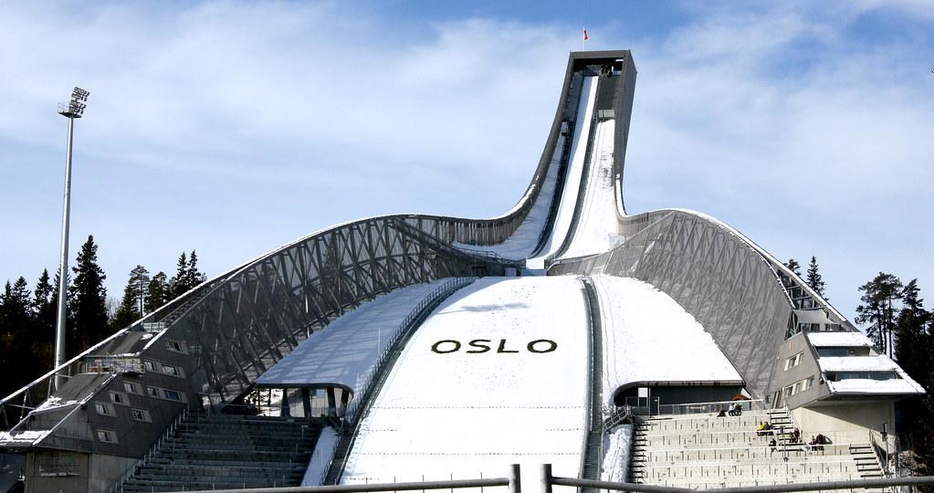 Holmenkollbakken i Oslo