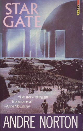 Star Gate - Andre Norton - cover artist  John Harris