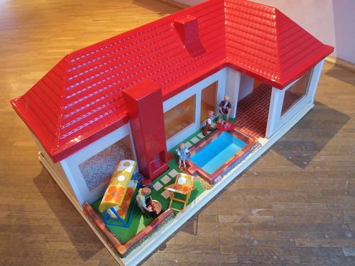 1973 elka puppenhaus ein puppenhaus aus pappe und plastik flickr. Black Bedroom Furniture Sets. Home Design Ideas