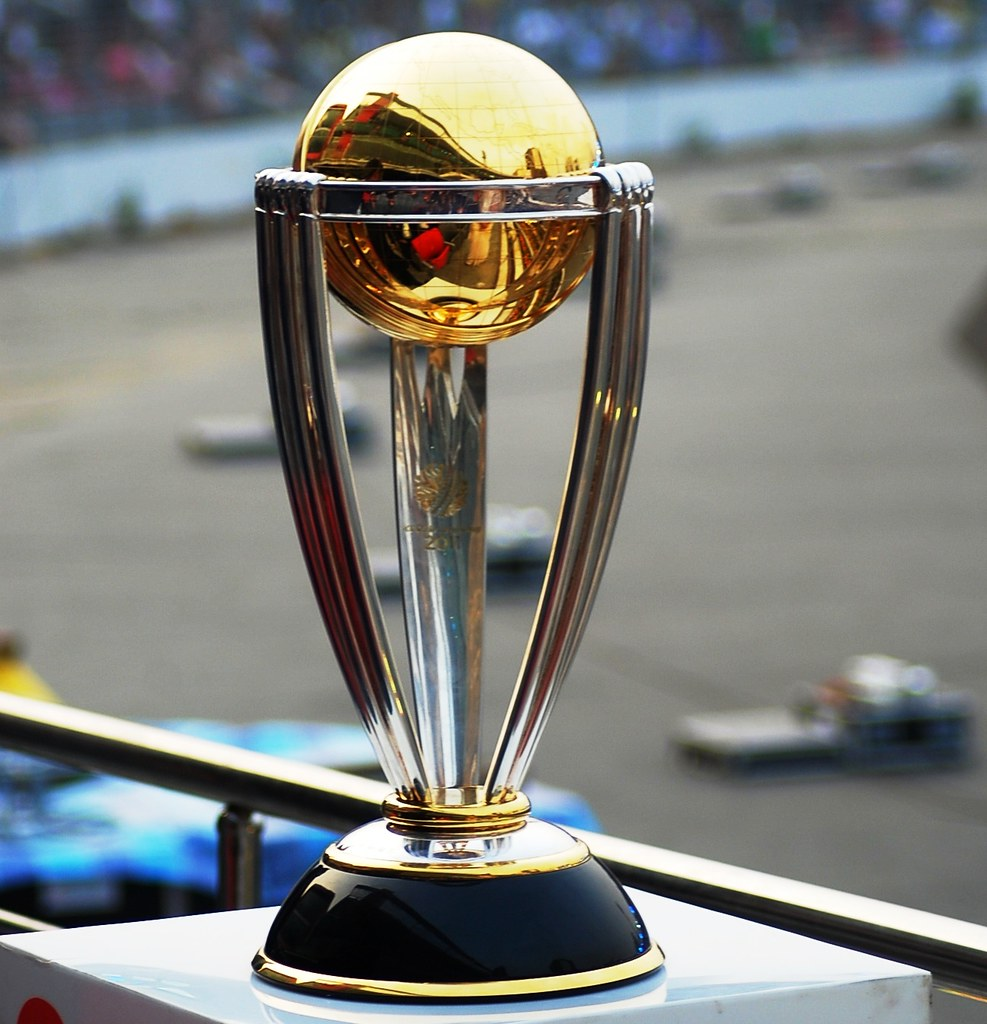 the icc cricket world cup trophy the cup that counts flickr