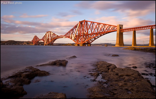 Sunkissed Forth Bridge | by Paul Reid 1975 (back exposing and with new PC)