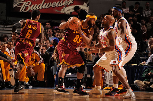 Baron Davis Squares Up | by Cavs History