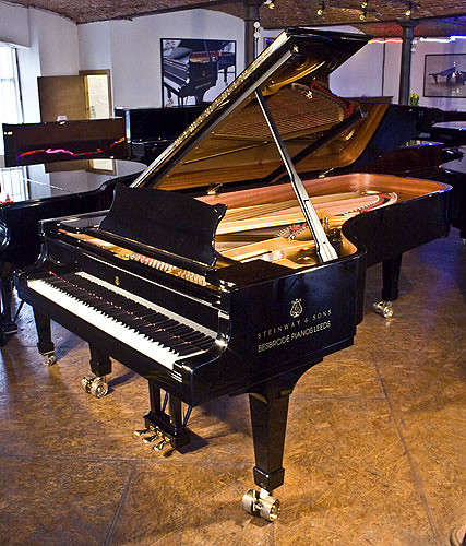 Steinway Amp Sons Model D Concert Grand Piano With A Black C