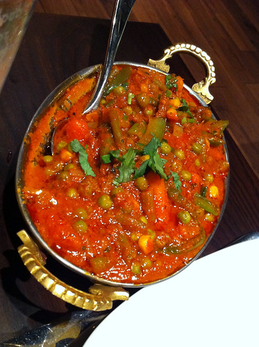 Sabzi Tarkari at Club India in Edinburgh | by www.theedinburghblog.co.uk