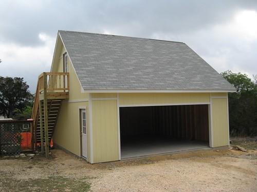 Premier Tuff Shed Carport : Premier pro ranch garage includes a second
