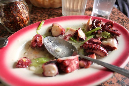 octopus salad | by SeppySills