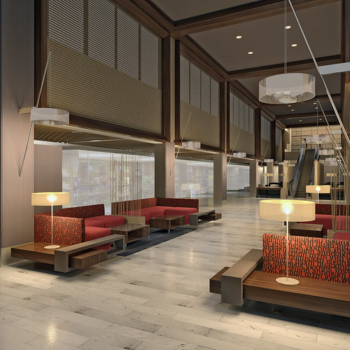 holiday inn toronto downtown centre lobby caroline. Black Bedroom Furniture Sets. Home Design Ideas